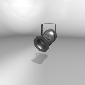 par lighting fixture 3d c4d