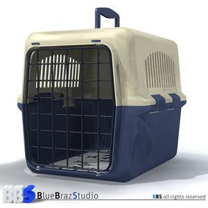 3d model pet cage