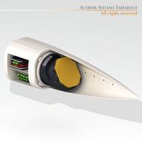 3d model selex radar gripen
