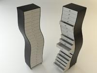 3d drawer design furniture
