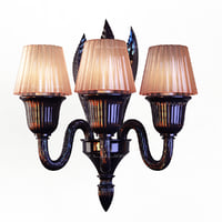 3ds max sconce murano