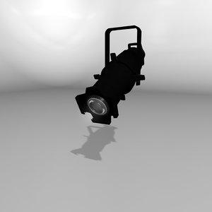 source 4 light 3d model