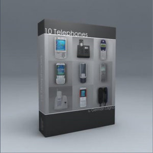 max 10 telephones