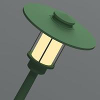 3ds max exterior lamp