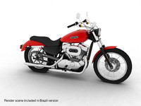 Harley-Davidson XL883 Sportster Custom 2009