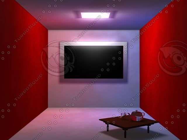 room 3d dwg