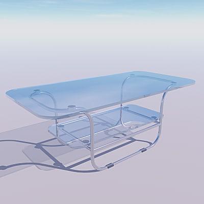 maya chrome glass coffee table