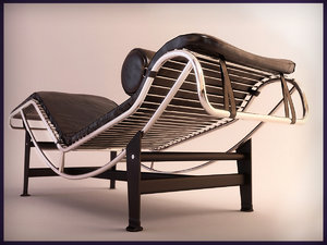 chaise lounge 3d model