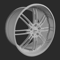3d model donz bonnano wheels
