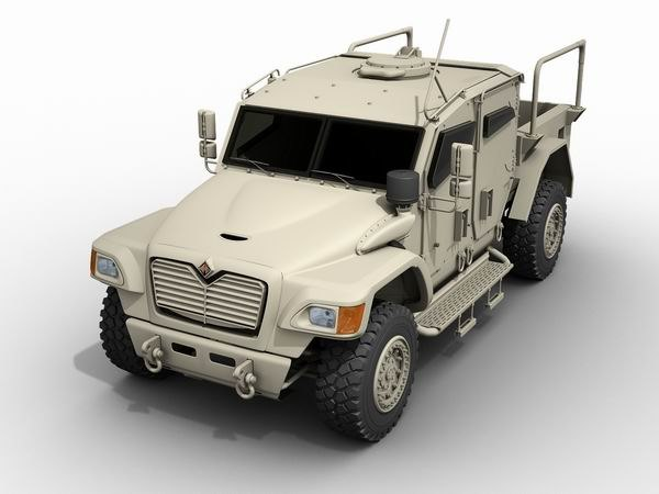 husky protected mobile 3d model