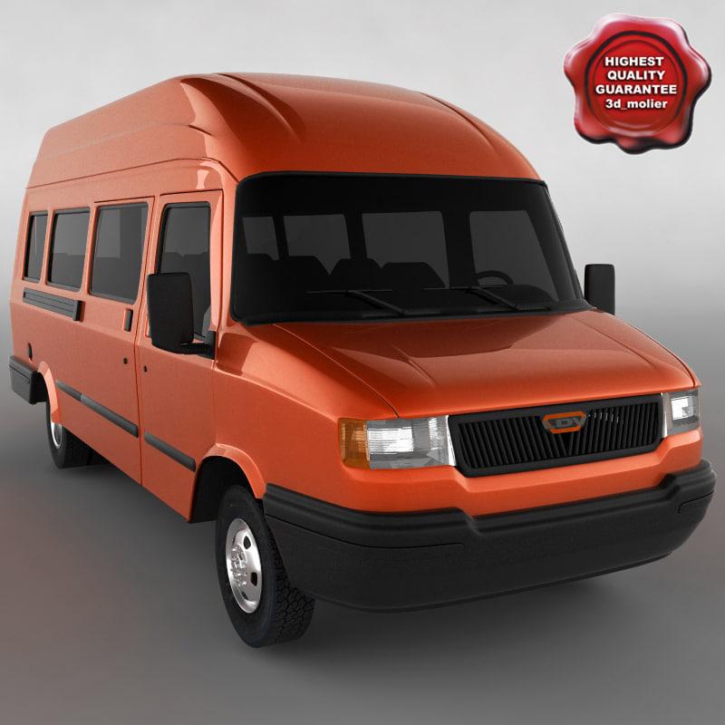 3d ldv convoy 400 model