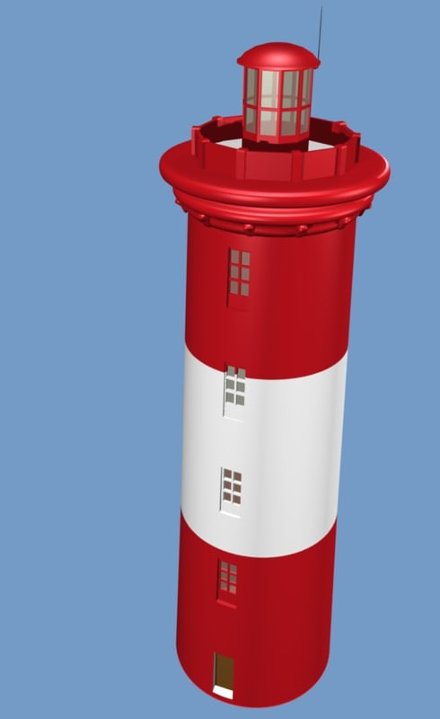 light house 3d model