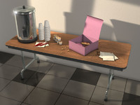 3ds max morning table