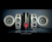 3d music player transform