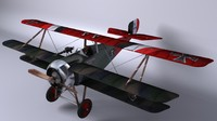 3d model of nieuport tripan