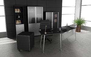 office interior 04a 3d model