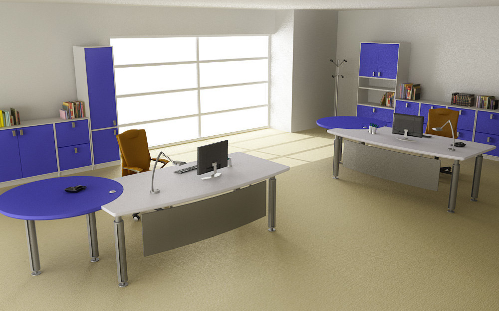 office interior 05c 3d model