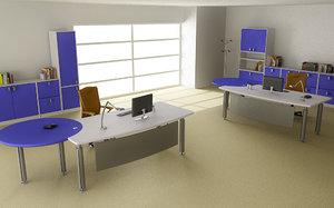 office interior 05c 3d model