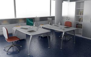3ds max office interior 06 c