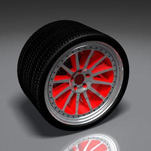 pantera wheel 3d model
