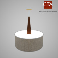 3d model pendent light lamp