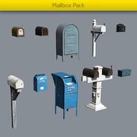 maya pack mailboxes mail box