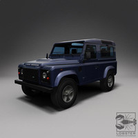 3d obj british road 4x4