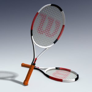 obj tennis racket