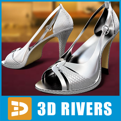 3ds max wight heels