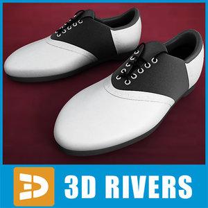 wight golf boots 3d model
