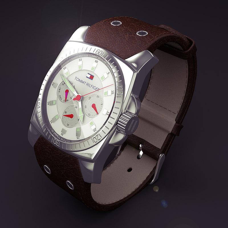 time - 3d model