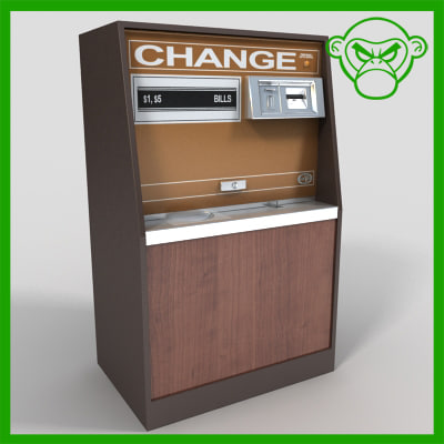 3d model change machine