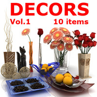 Decors 10 items