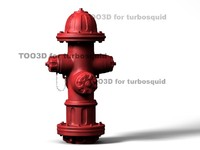 hydrant industrial sidewalk 3d model