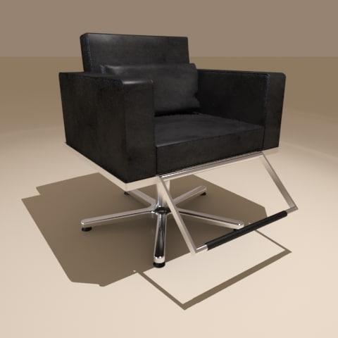 3d salon chair model - Salon Chair