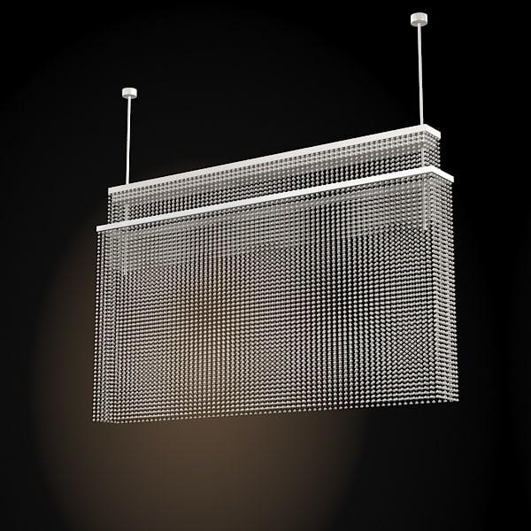 luminaria pendant lamp 3d max