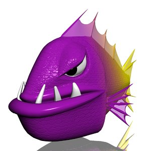 angry piranha 3ds