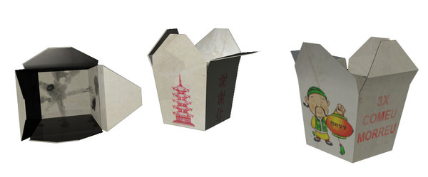 obj caixa chinesa