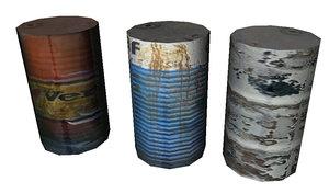 barril c4d free