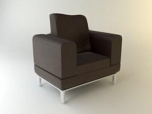 3d sofa seam te0001