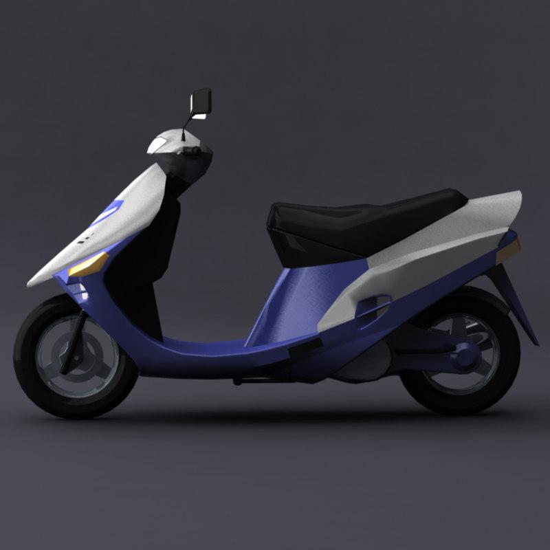 scooter obj