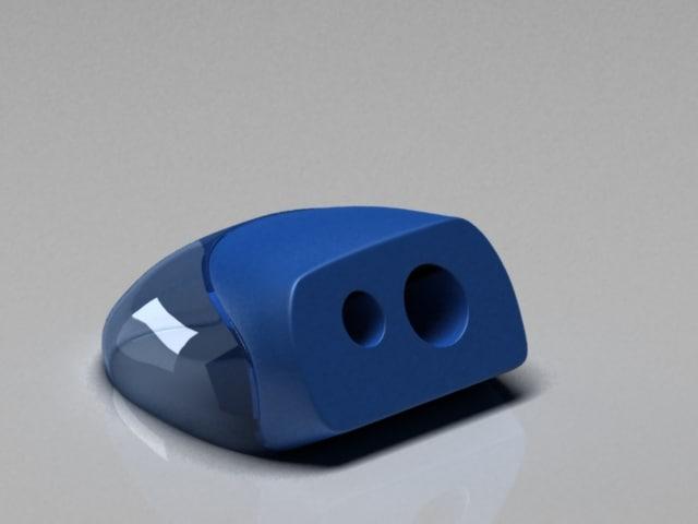 pencil sharpener 3d model