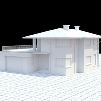 highly detailed single-family house 16