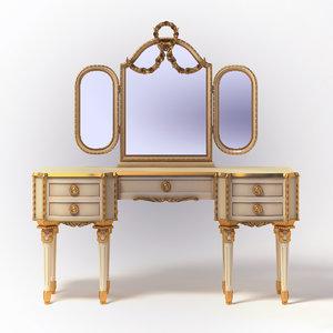 3d francesco molon - nightstand model