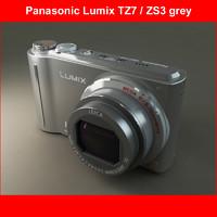 Panasonic DMC-TZ7 grey