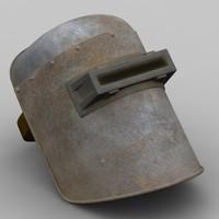 maya welding mask