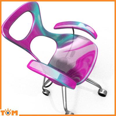 blend modern girly chair