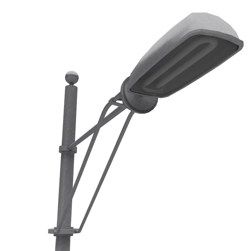 street lamppost 3d model