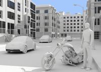 3d definition city model
