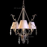 chandelier baga 2262 3d max
